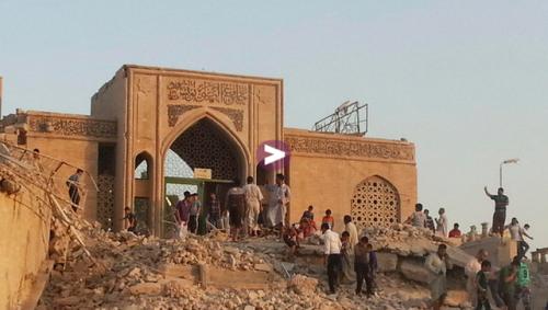 ISIS hancurkan makam Nabi Yunus?